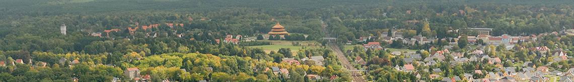 Luftbild auf Hohen Neuendorf