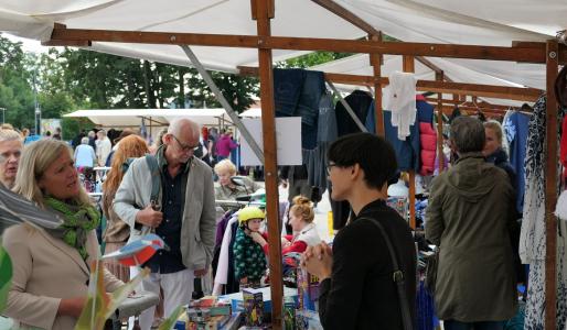 Trödelmarkt von Hohen Neuendorfern für Hohen Neuendorfer