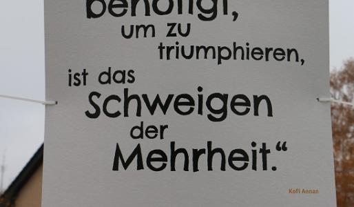 Plakate Zum Gedenken Stadt Hohen Neuendorf