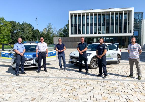 Ordnungsamt und Polizei gemeinsam