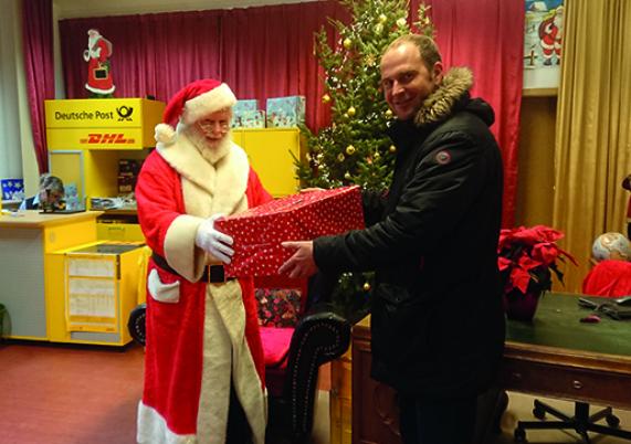 Antwort vom Weihnachtsmann garantiert   Stadt Hohen Neuendorf