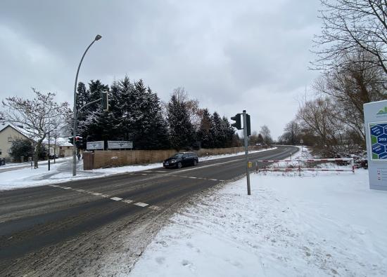 Radweg nach Stolpe
