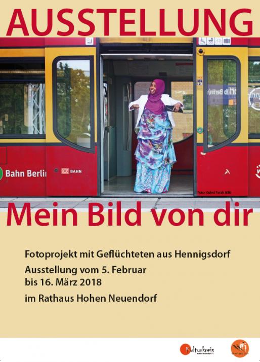 Plakat Ausstellung Geflüchtete